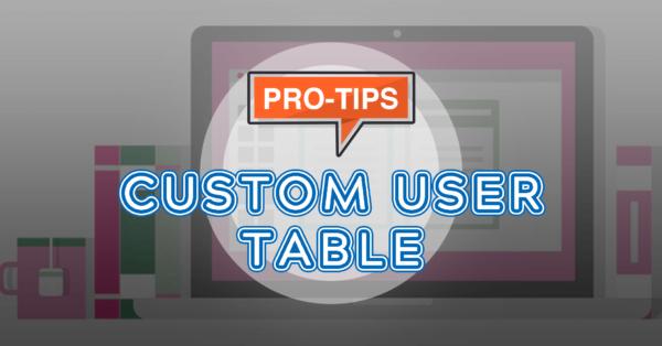 How to Use Custom User Table in WordPress