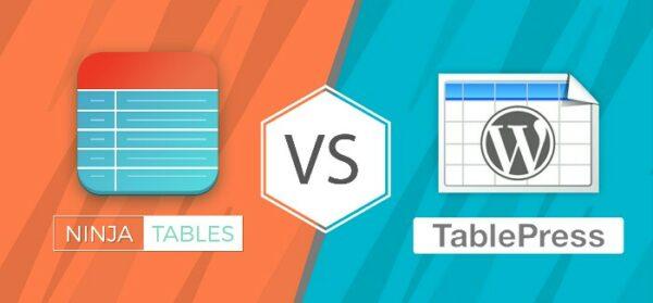 Ninja Tables VS TablePress | a Comparative Study