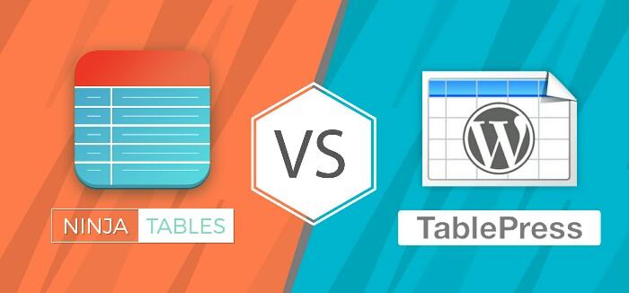 Ninja Tables vs TablePress