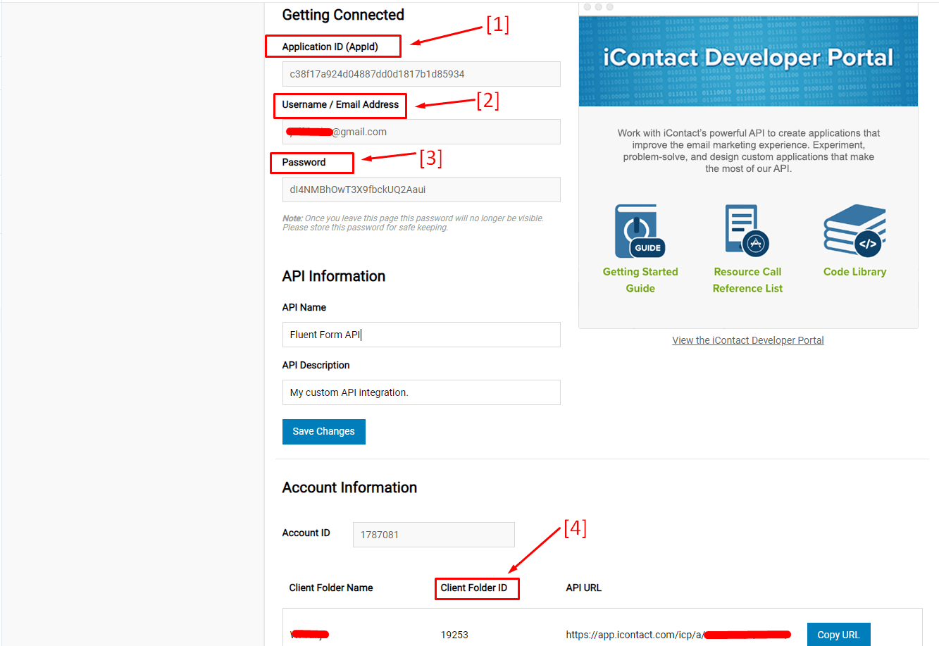 How To Get Icontact API Key WP FLuent Forms Plugin