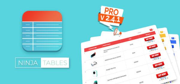 Ninja Tables Pro 2.4.1 has Landed & It's Easier to Use than Ever!