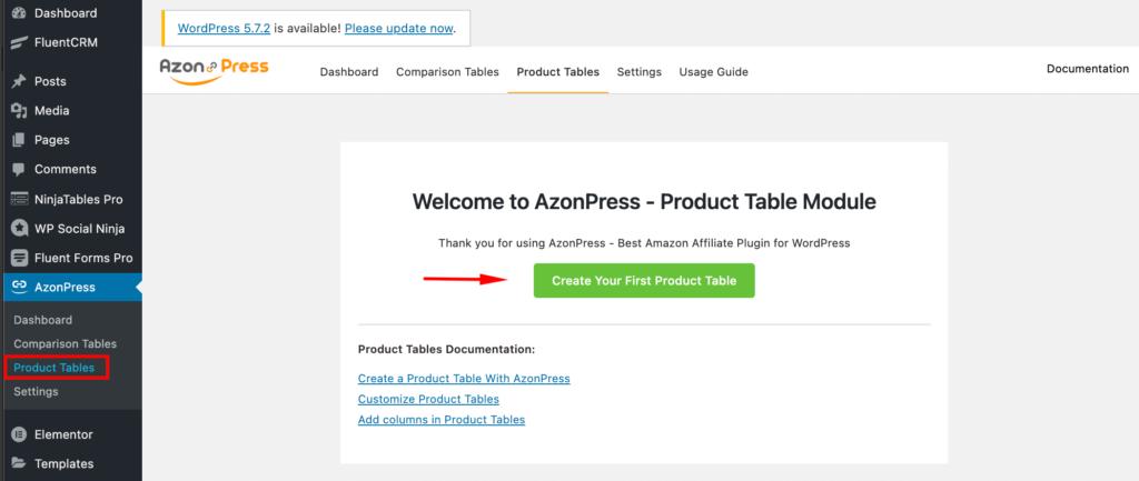 Create-Product-Tablle-Azonpress