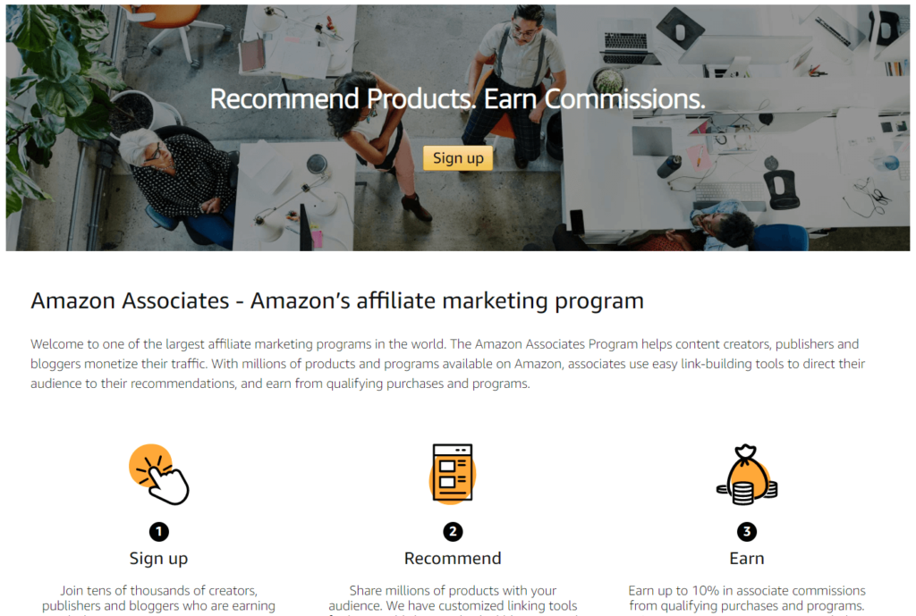 How to Become Amazon Affiliate - Application