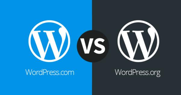 WordPress.com vs WordPress.org – What's the difference?