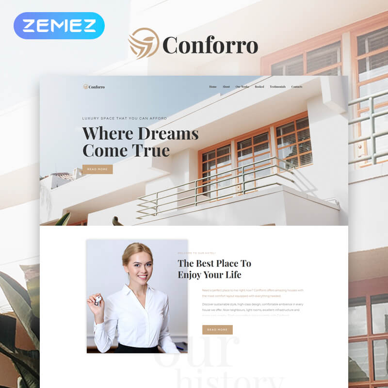 real estate wordpress theme wpmanageninja