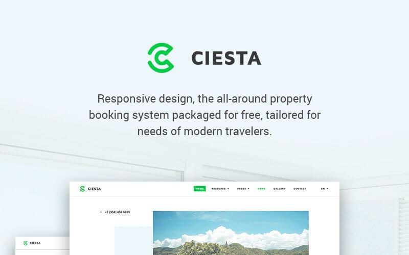 20. Ciestra - Resort WordPress Theme