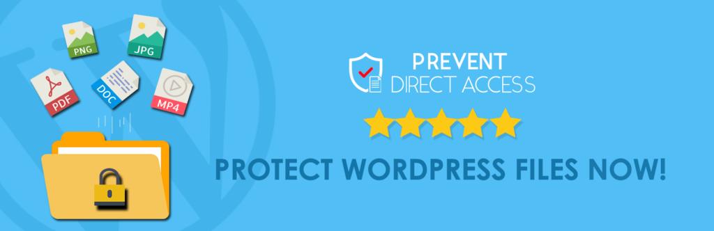 prevent direct access plugin
