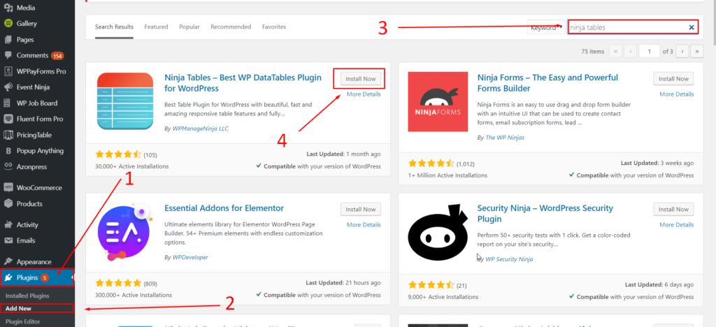 How-To-Install-And-Setup-Ninja-Table-WordPress-Plugin