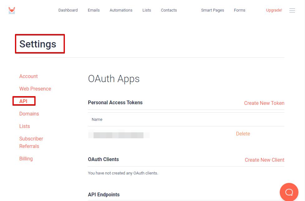 Sendfox Get API Fluent Forms