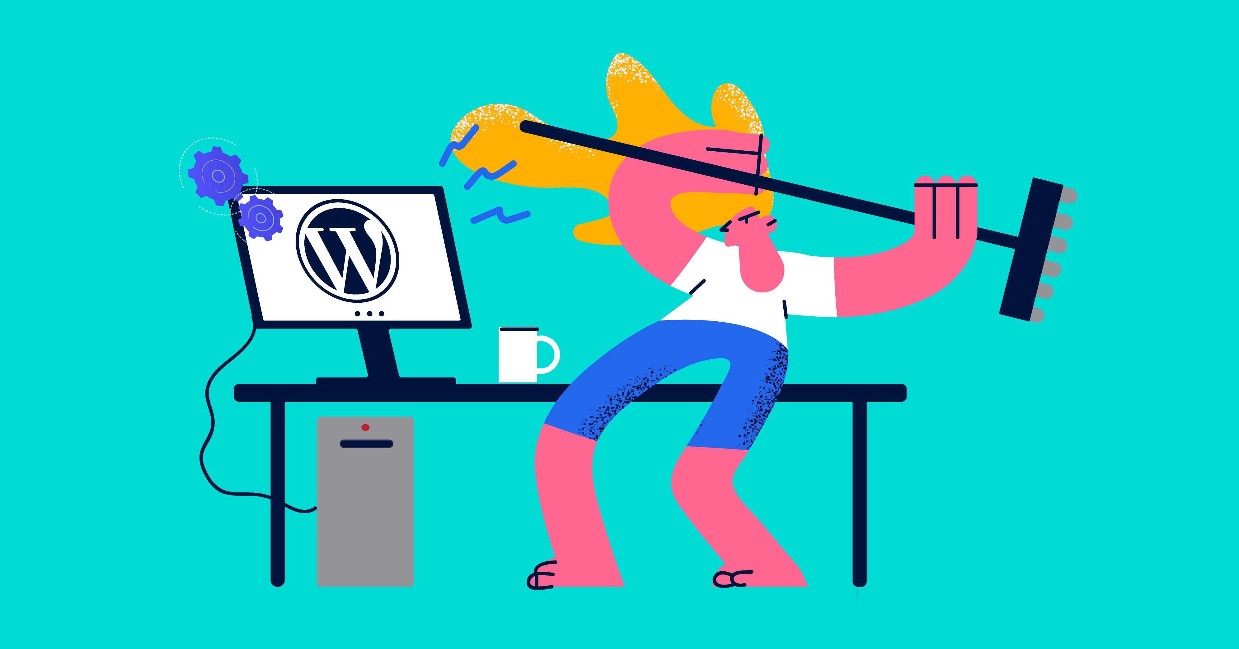 how to fix common wordpress error