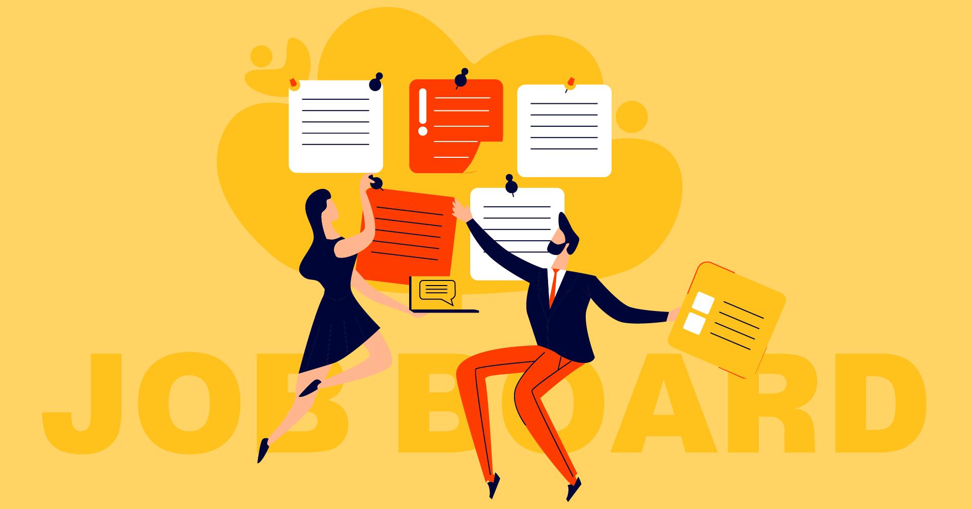 how to create a job board