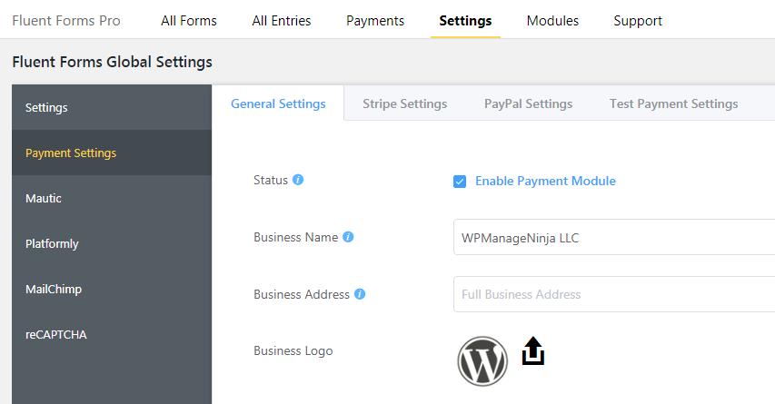 WordPress PayPal Integration