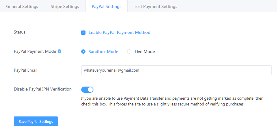 WordPress PayPal Integration with Fluent Forms