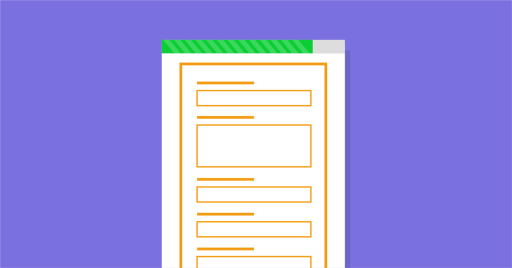responsive forms CSS