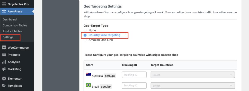 Azonpress-Geo-Targetting-Enable