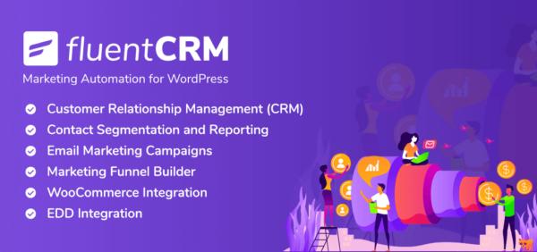 FluentCRM – Best WordPress CRM & Email Marketing Plugin