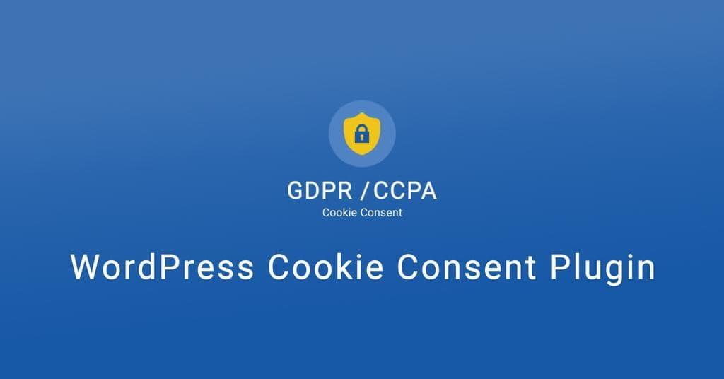 WordPress GDPR Plugin for Cookie Consent