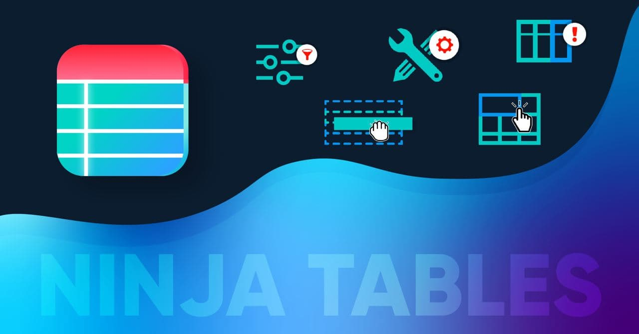 How to use Ninja Tables for WordPress tables