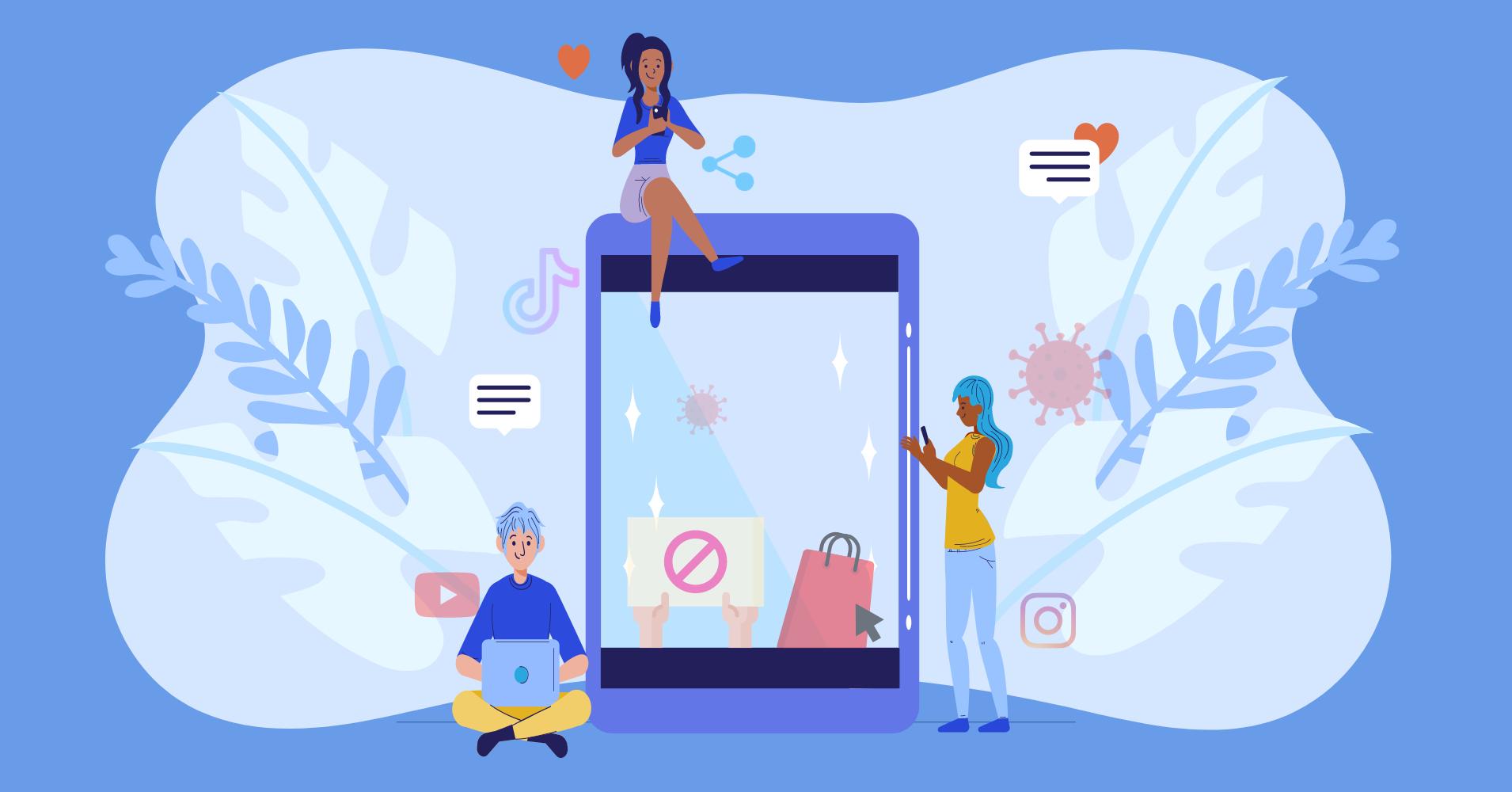 top social media moments 2020