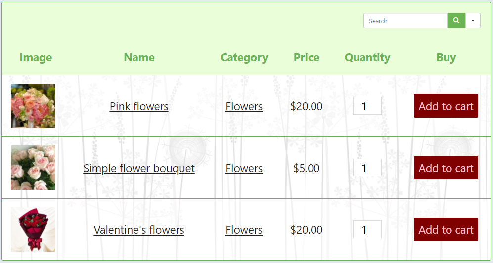 adding table background image with CSS