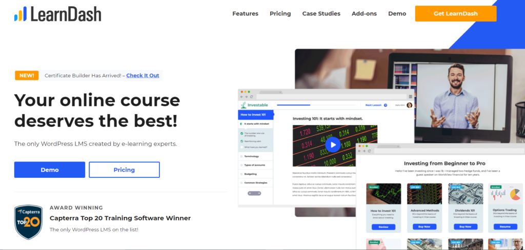 Best WordPress LMS Plugins - LearnDash