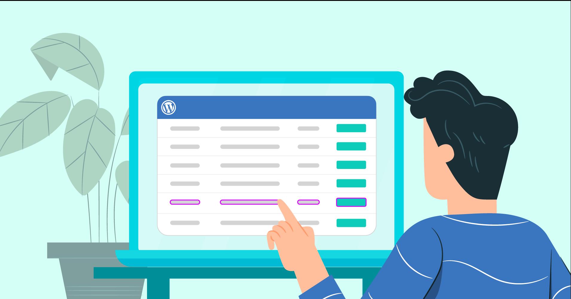 Customizing WordPress table color with Ninja Tables
