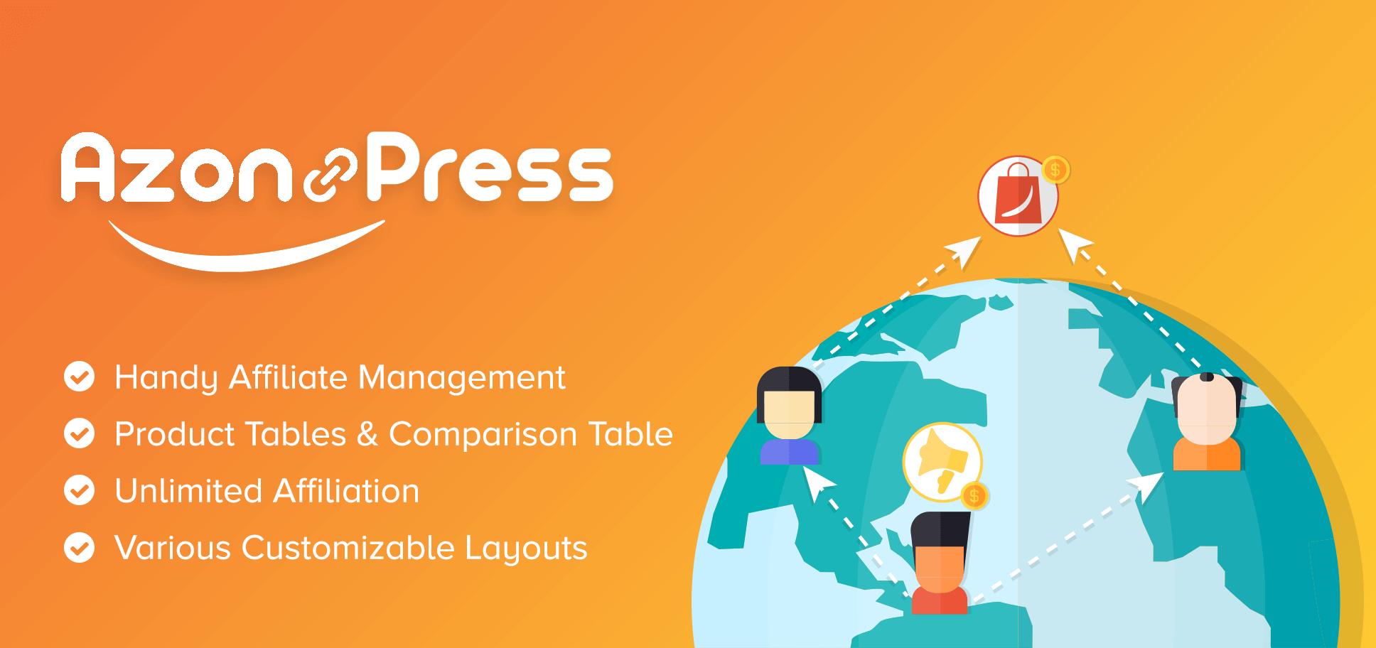 AzonPress – Amazon Affiliate WordPress Plugin