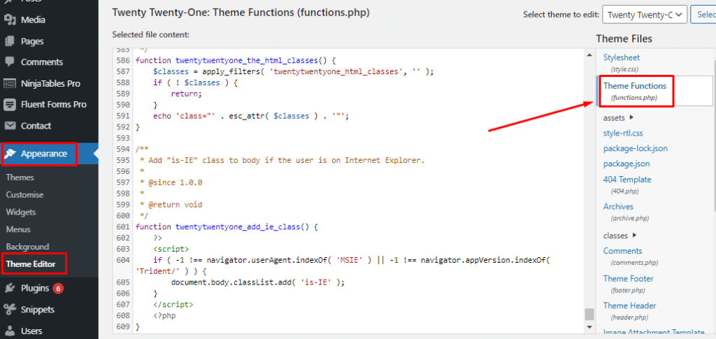 Datepicker function for Fluent Form.png