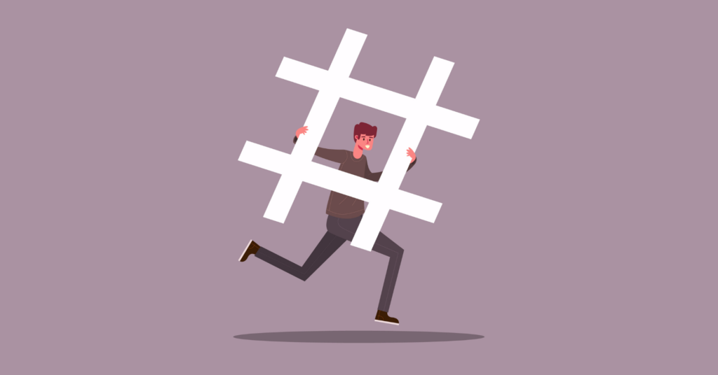power of hashtags for brands