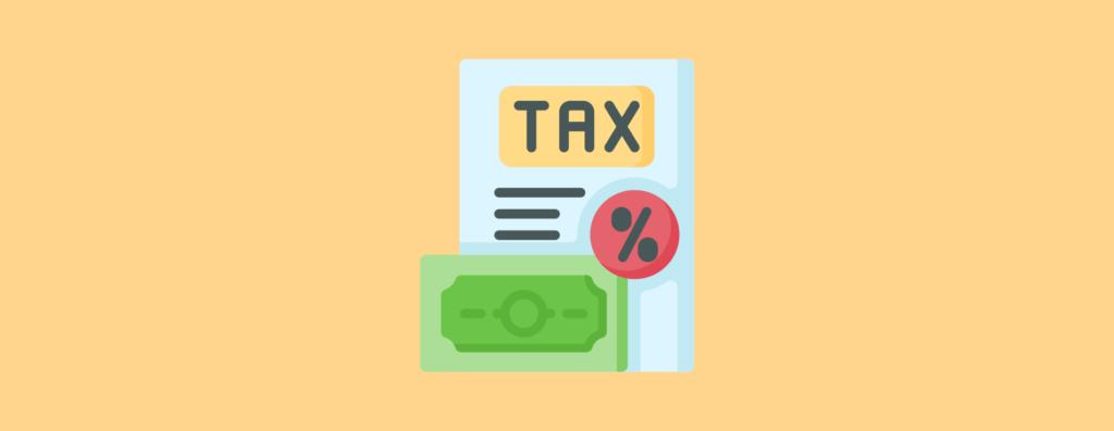 Calculate the taxes