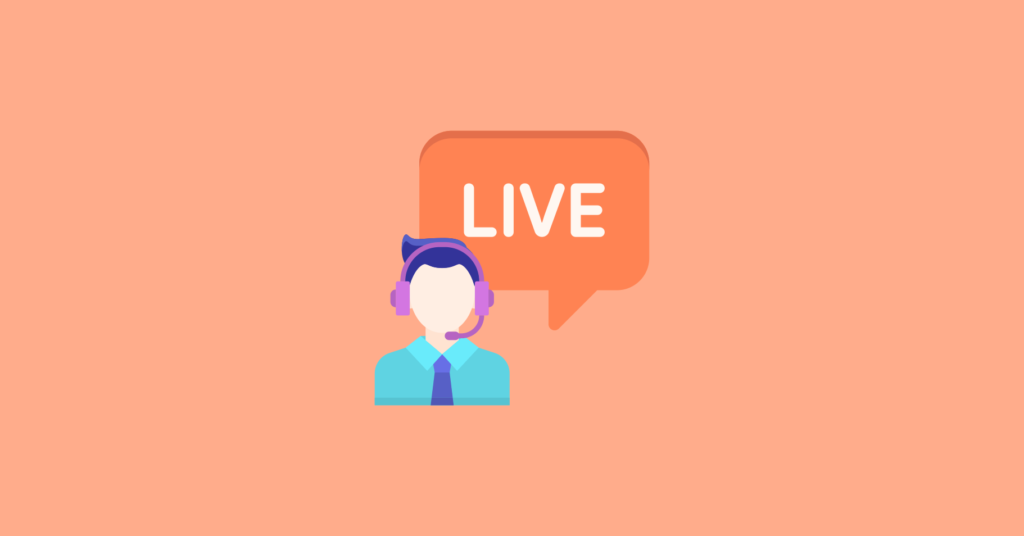 Add live chat for instant communication