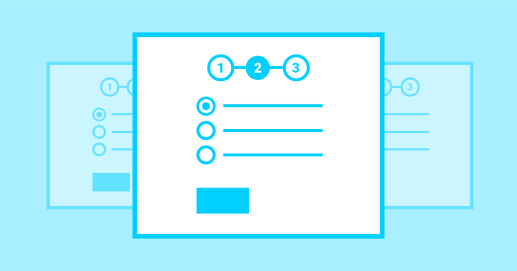 Form steps help to create exciting WordPress quiz