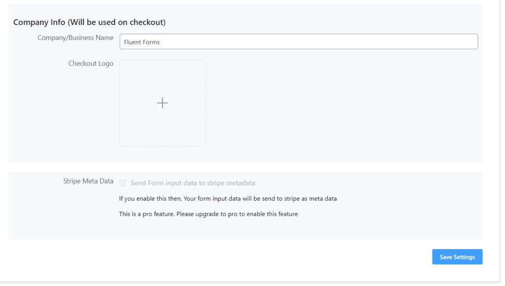 Add checkout logo to WPPayForm