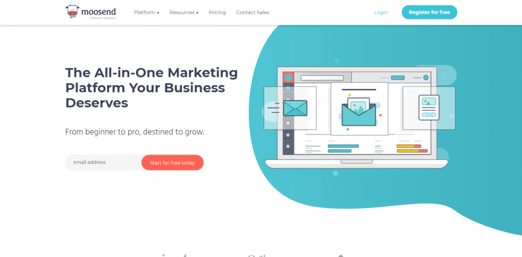Moosend Email Marketing Software