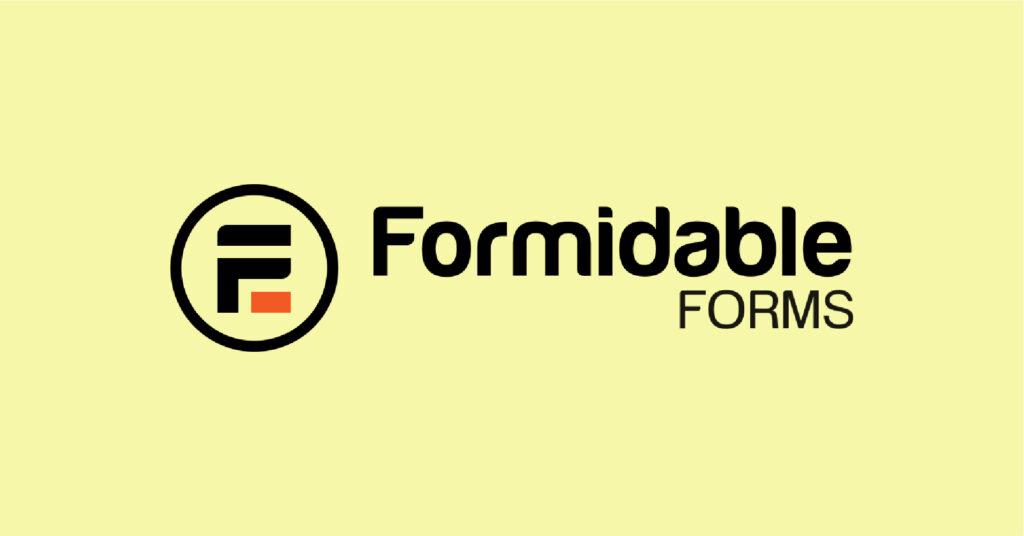 Formidable Forms, WordPress form plugins.