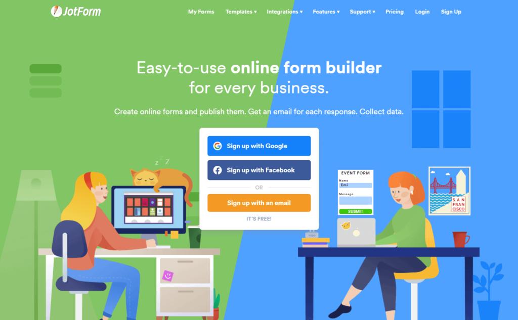 JotForm - form builder plugin