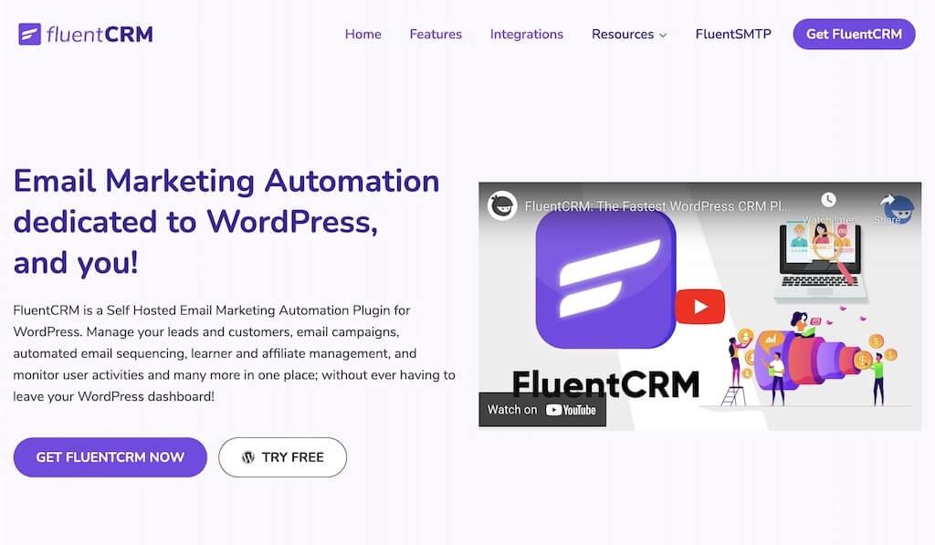 FluentCRM Call-to-Action Button Example