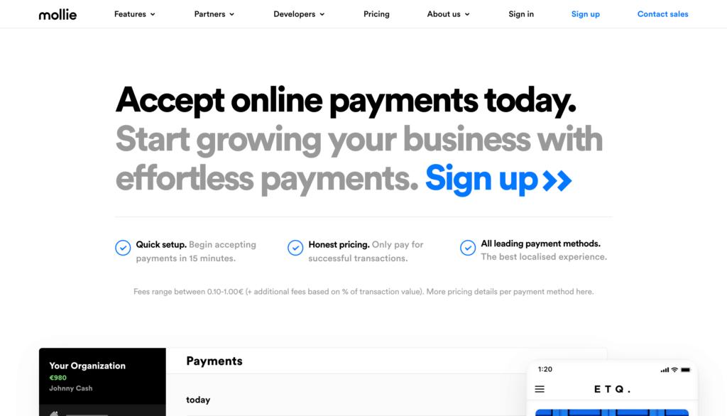WordPress Payment Solutions - Mollie