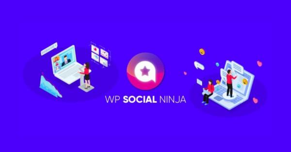 WP Social Ninja: LTD for The Best Social Media Plugin in WordPress!