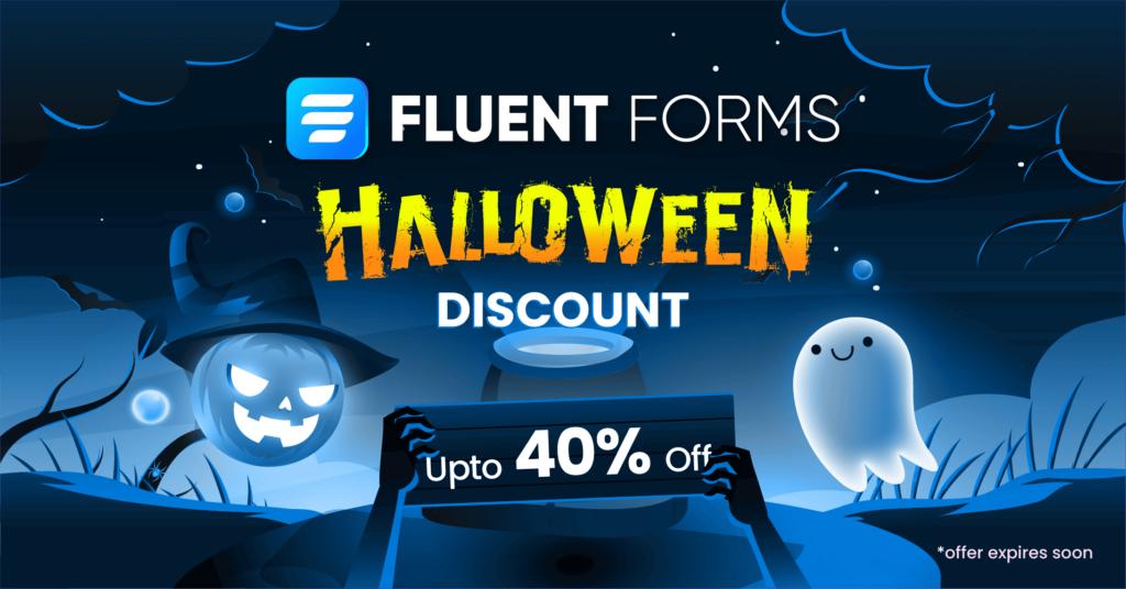 Fluent Forms Halloween Discount - WordPress discount