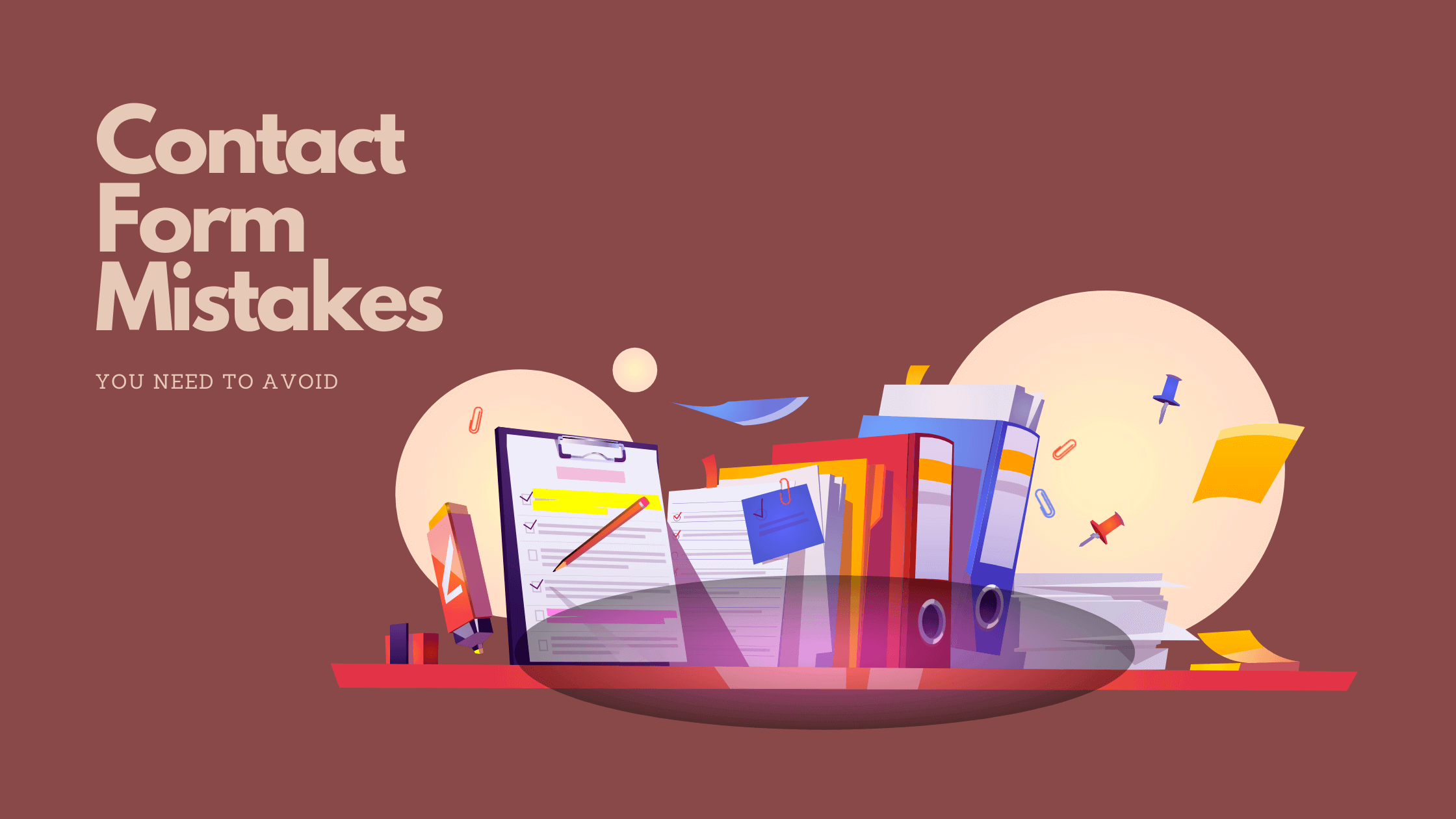 contact form mistakes - Fluent Forms