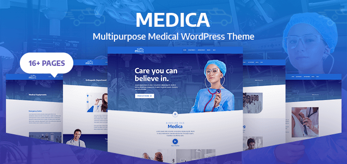 Medica – Healthcare and Medical Responsive WordPress Theme