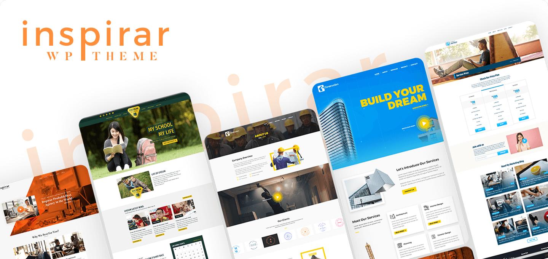Inspirar Pro – Multipurpose WordPress Theme for Unlimited Website